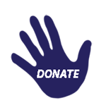 Donate Hand Blue4